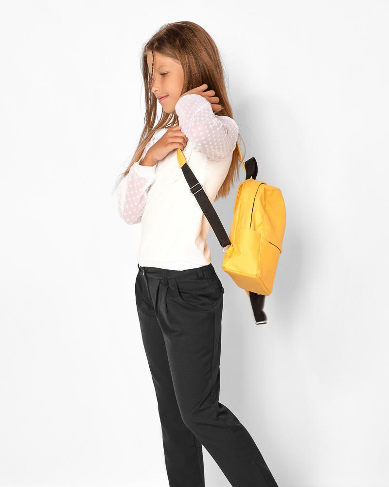 Зауженные школьные брюки фото