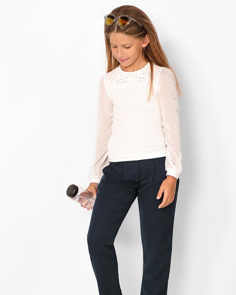 Блуза-свитшот с декором фото
