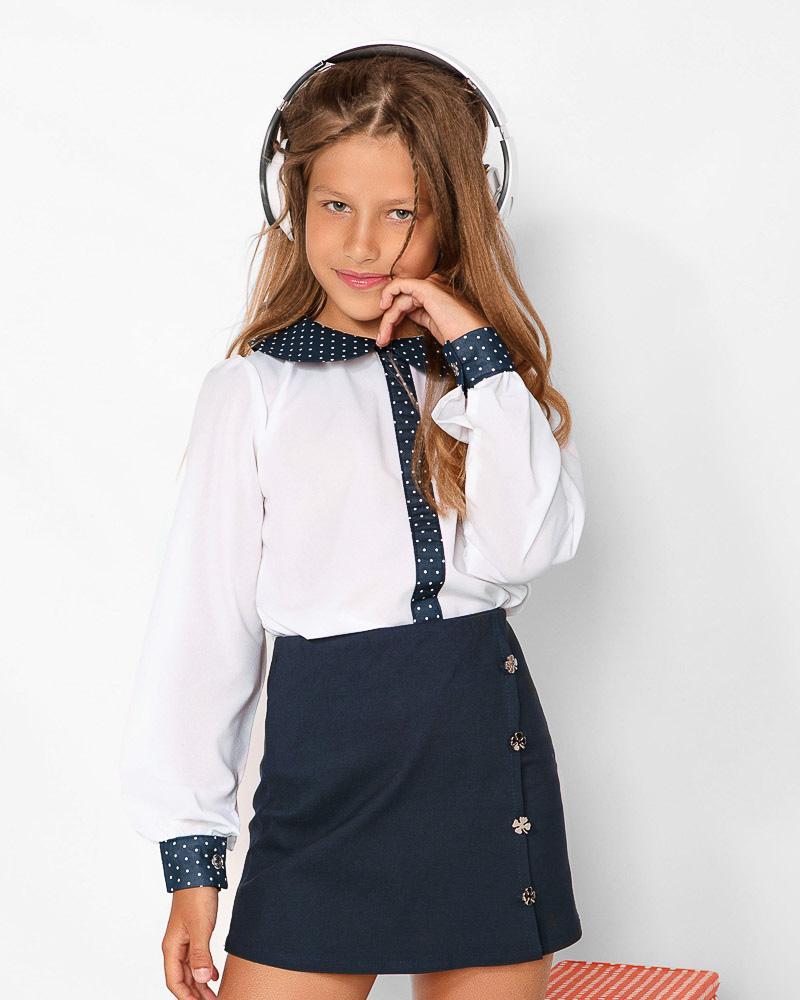 Купить Detskaya-odezhda, Контрастная детская блуза, Gepur