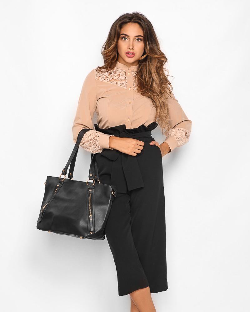 Блуза зі вставками от Gepur