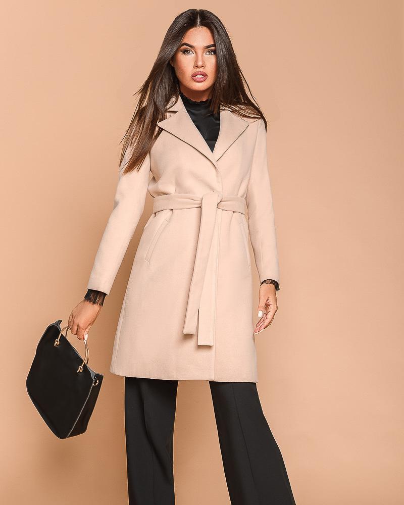 Двобортне пальто жіноче от Gepur