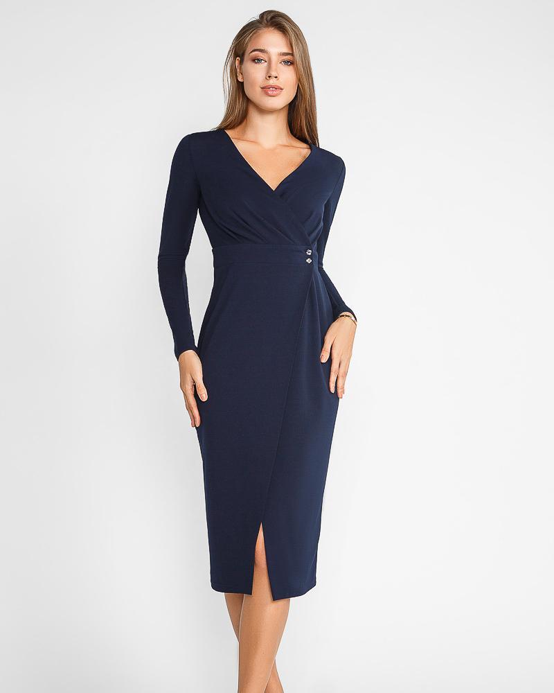 Стильное платье-халат