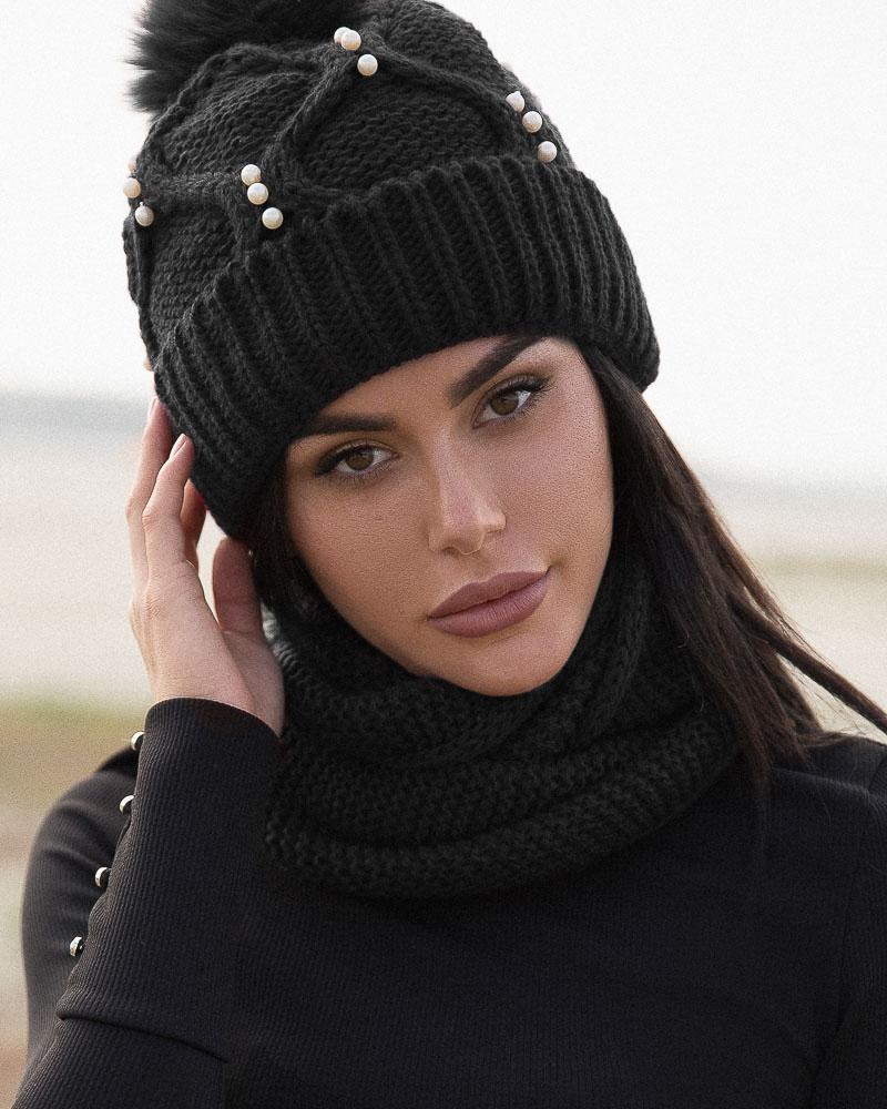 Комплект с шарфом