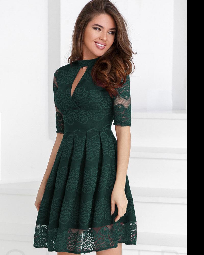 Гипюровое женское платье фото