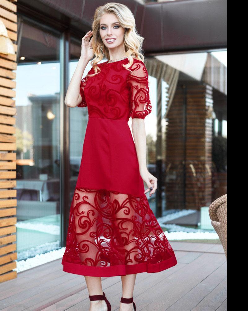 Длинное вечернее платье фото