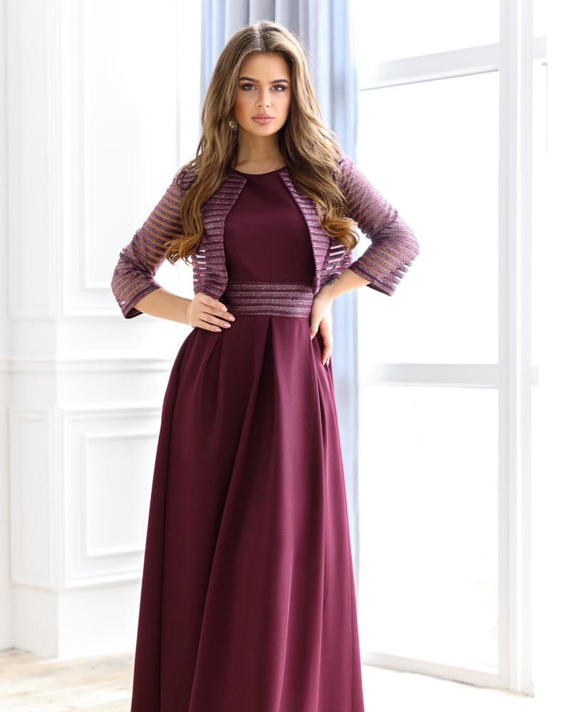 Вечірнє плаття з болеро от Gepur
