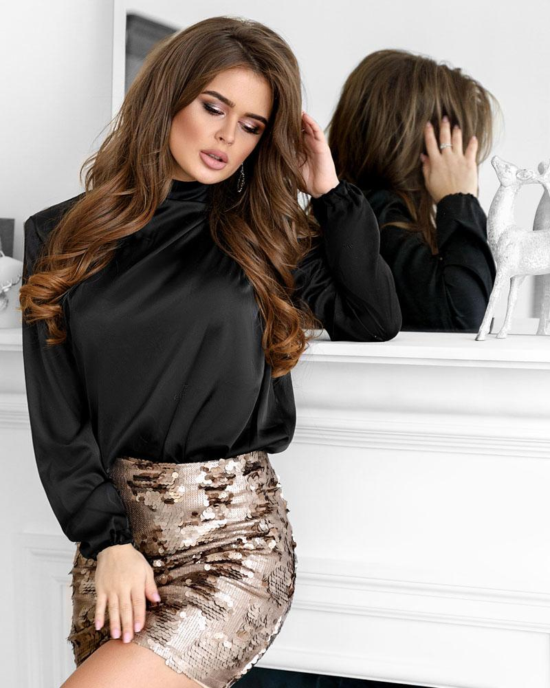 Шовкова блуза от Gepur