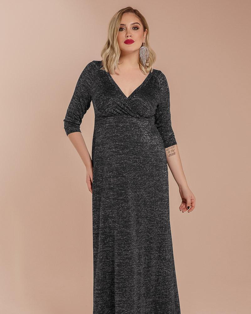 Платье с люрексом фото