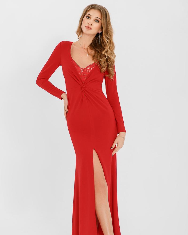 Плаття з розрізом от Gepur