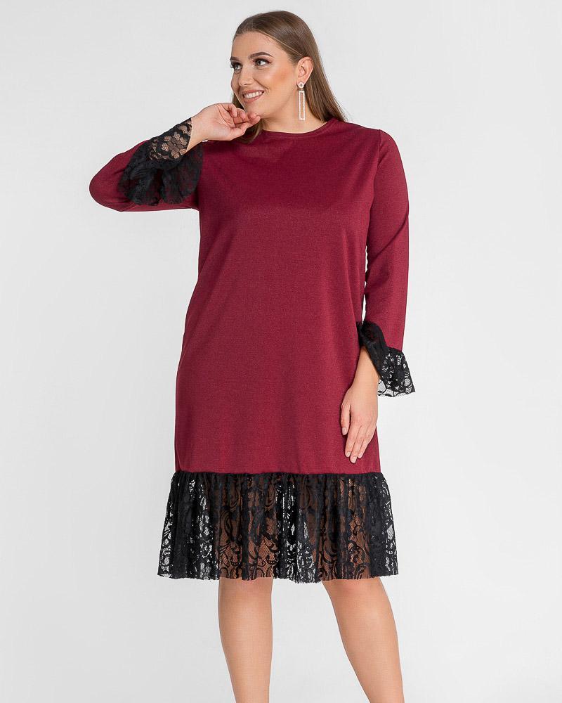 Платье с люрексовой нитью фото