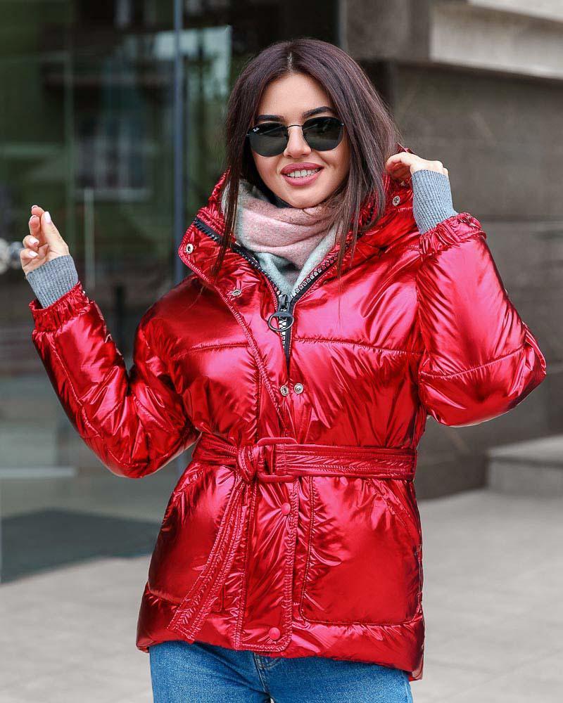 Купить Verhnyaya-odezhda_kurtki_kurtki-na-sintepone, Яркая стеганая куртка, Gepur