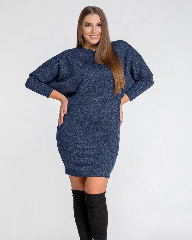 Платье с эффектным рукавом фото