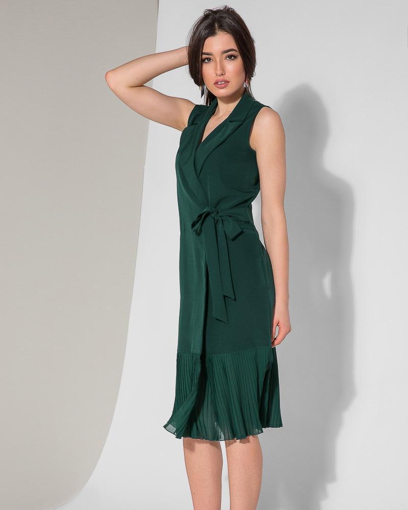 Уникальное платье-миди фото