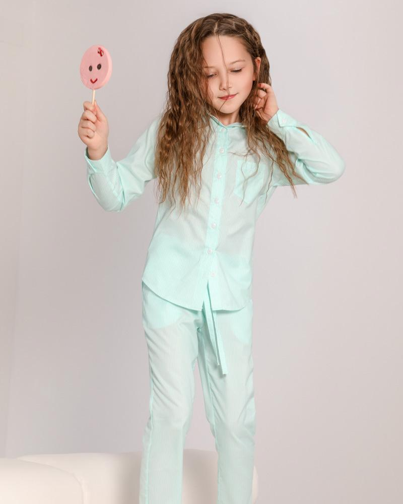 Мягкая детская пижама фото