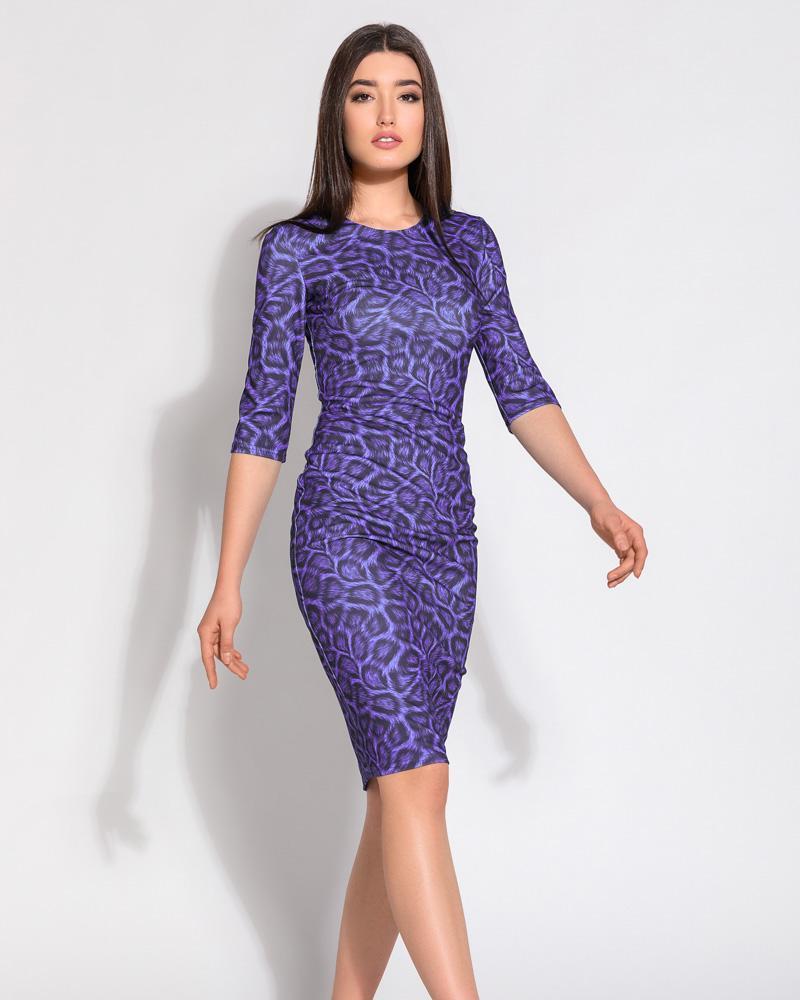Купить Platya_platya-bolshih-razmerov, Облегающее платье-миди, Gepur
