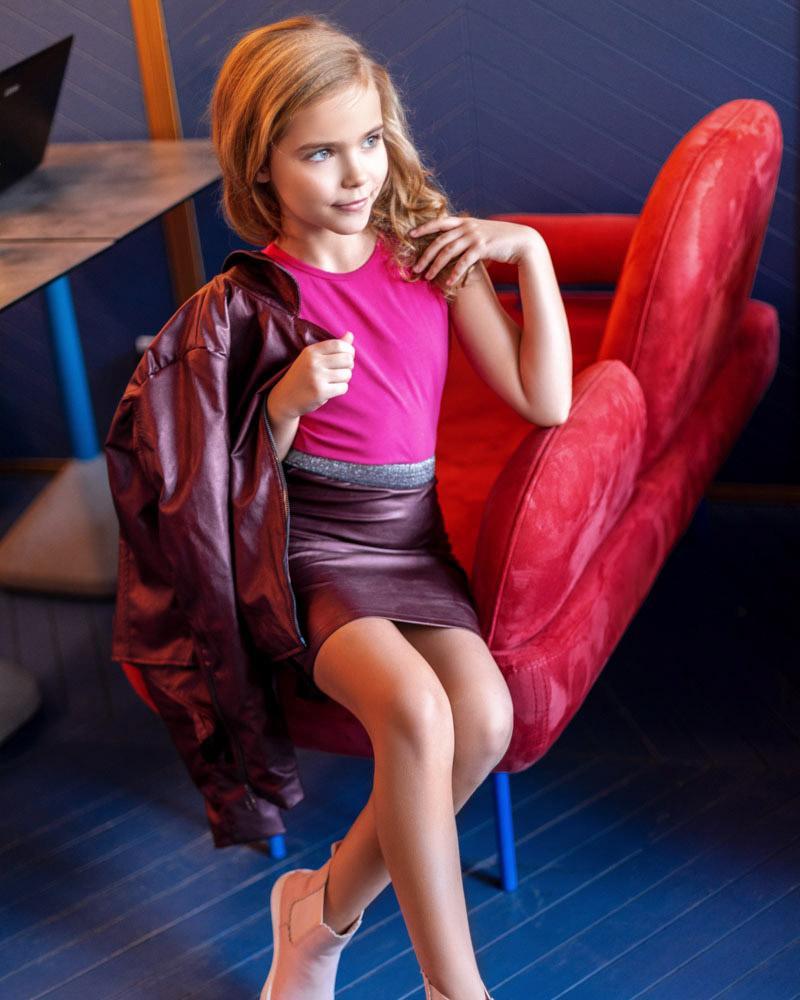Купить Detskaya-odezhda, Детская кожаная юбка, Gepur