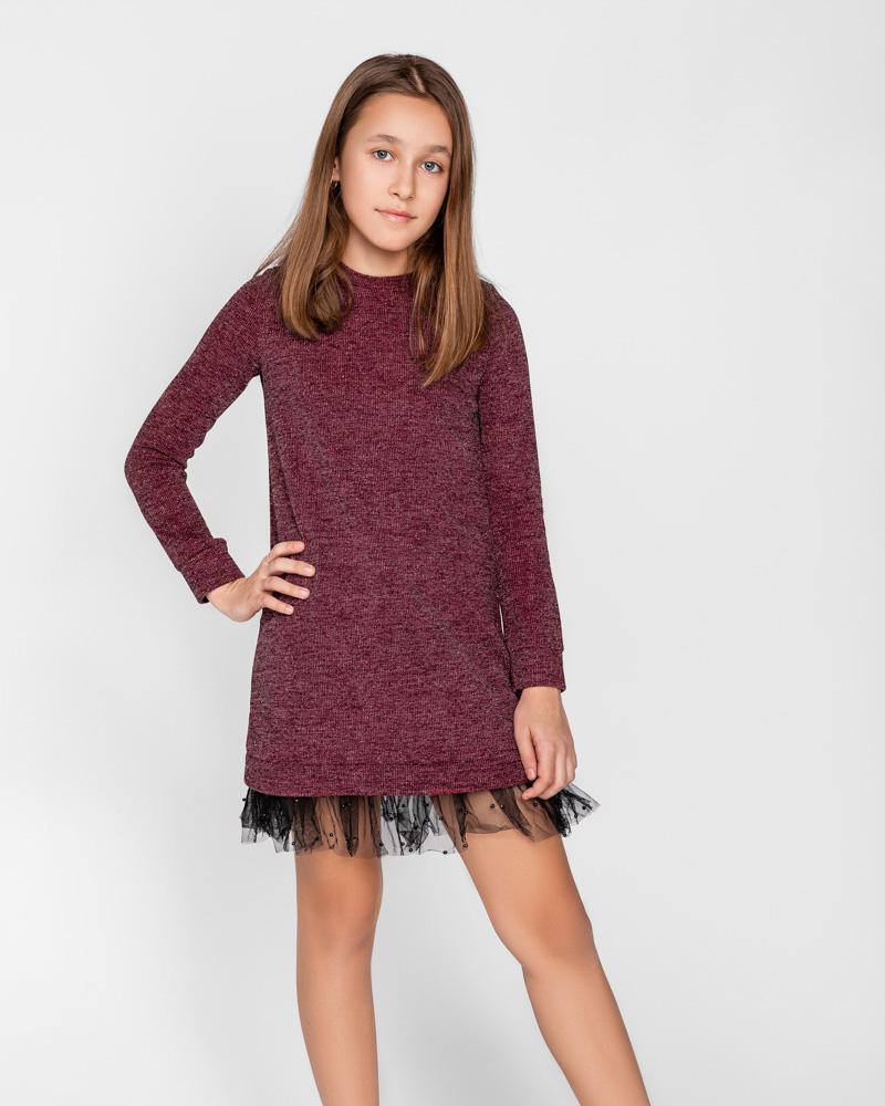 Плаття-туніка з ефектним декором от Gepur