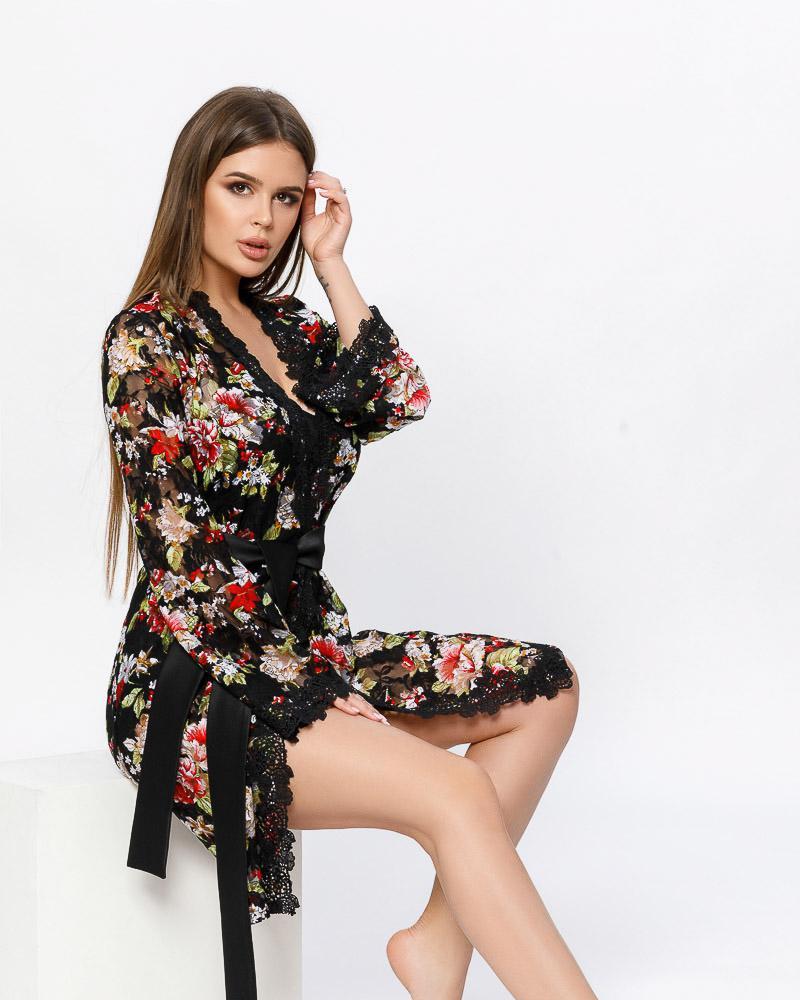 Купить Odezhda-dlya-doma, Трендовый халат на запа́х, Gepur