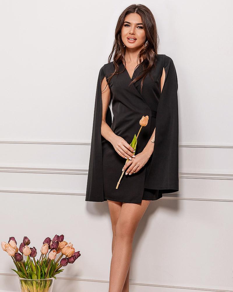 Вечернее платье-кейп фото
