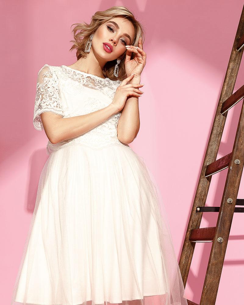 Актуальне сукню з топом от Gepur