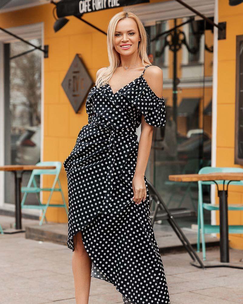 Легкое платье на запа́х фото