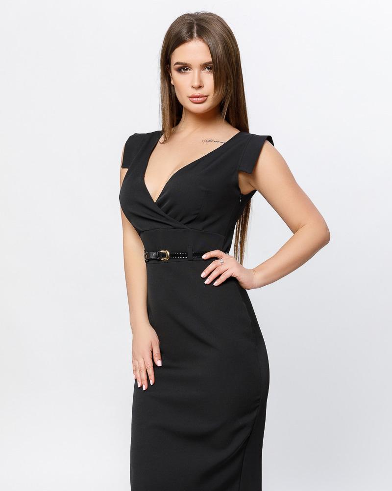 Актуальное платье-миди фото