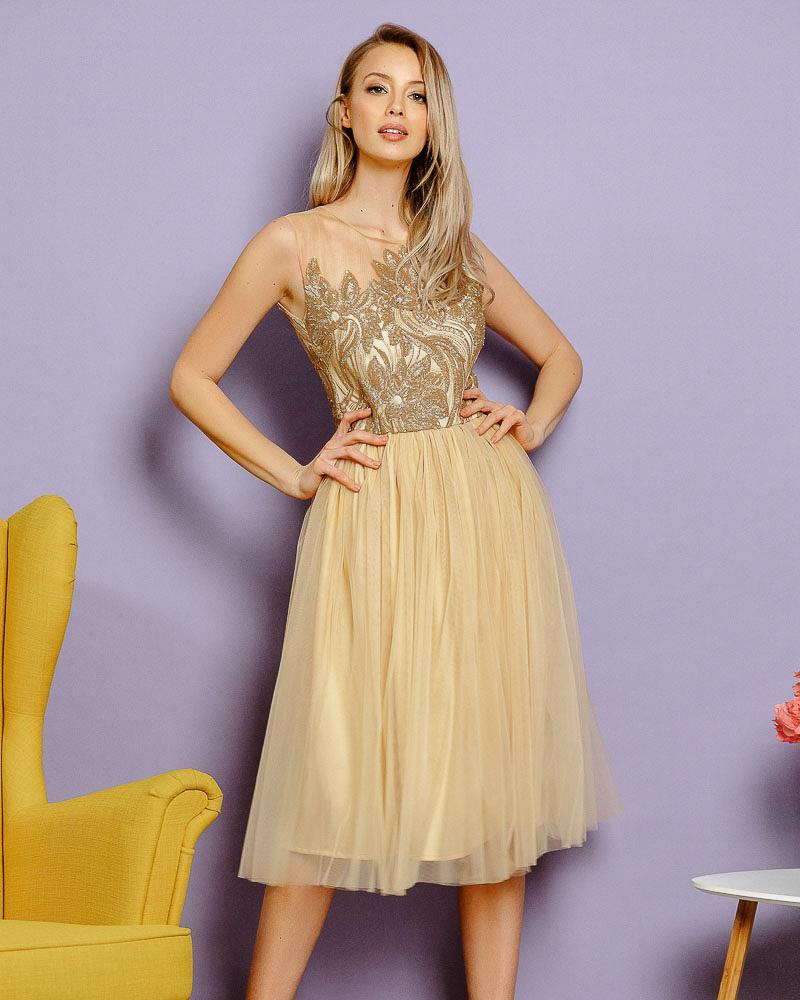 Вечірнє плаття з пайеткою от Gepur