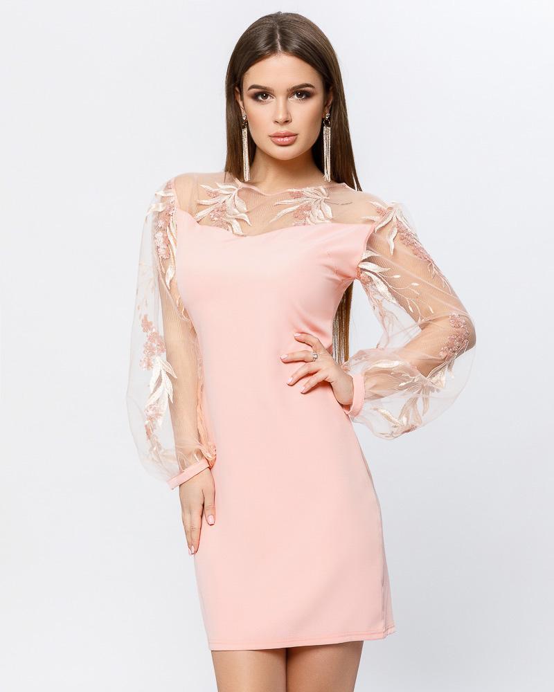 Сукня з об'ємними рукавами от Gepur