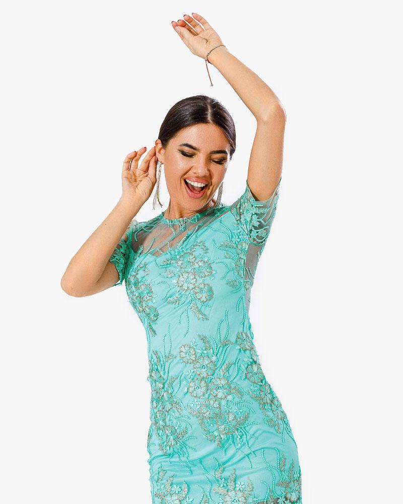 Вечірнє плаття з вишивкою от Gepur
