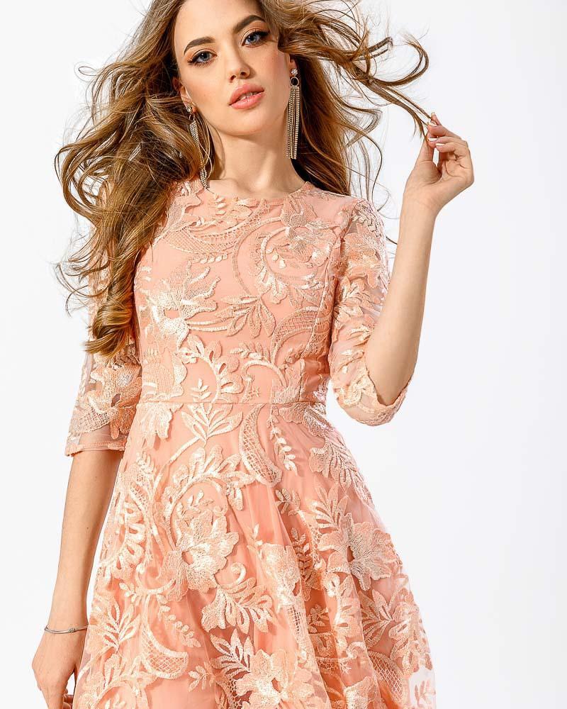 Фото - Вечернее вышитое платье