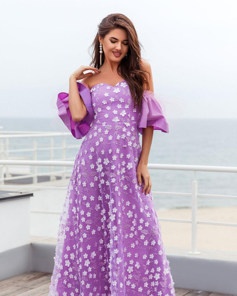 Плаття з пишними рукавами от Gepur