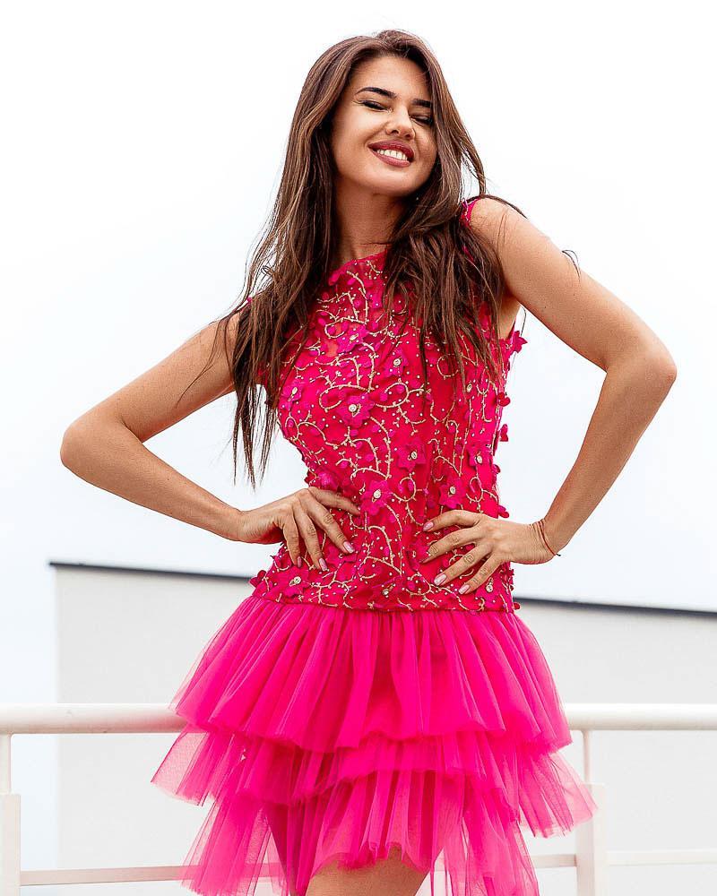 Багатошарове вечірнє плаття от Gepur