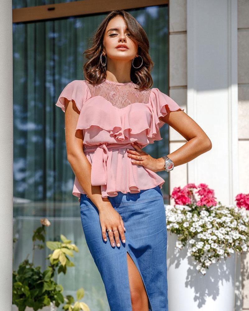 Нежная блуза Gepur фото