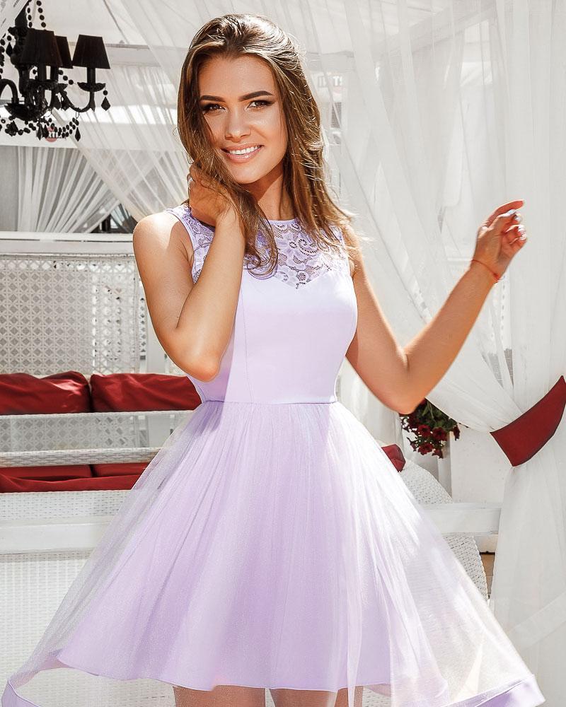 Платье с пышной юбкой фото