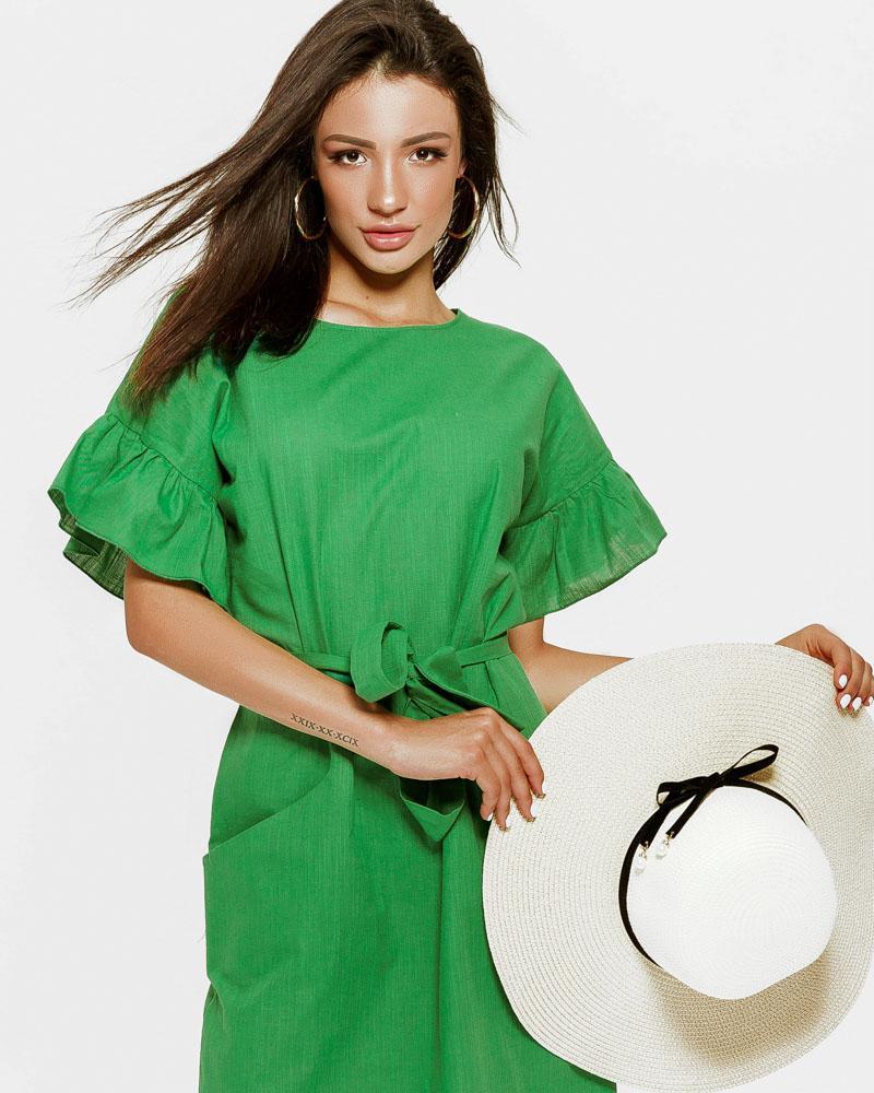 Купить Platya_platya-bolshih-razmerov, Просторное короткое платье, Gepur