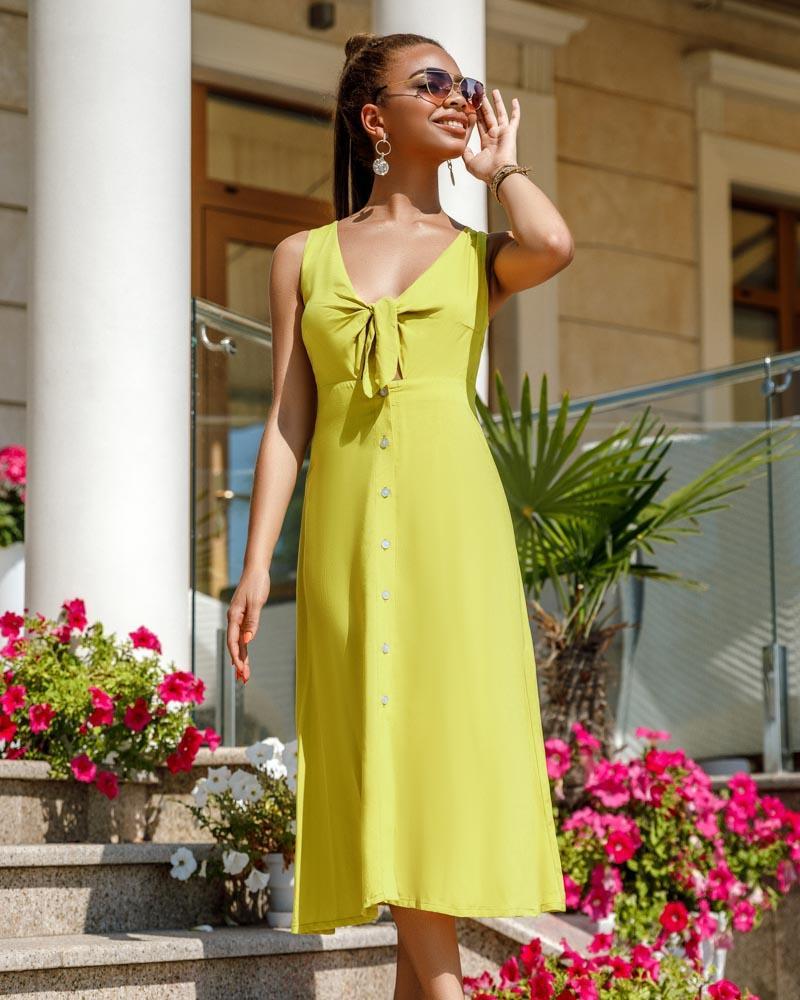 Легкое летнее платье фото