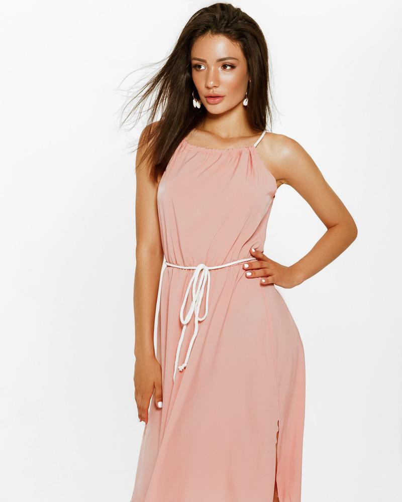 Платье из легкой ткани фото