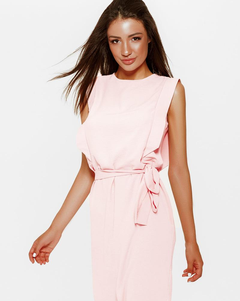 Нежное короткое платье