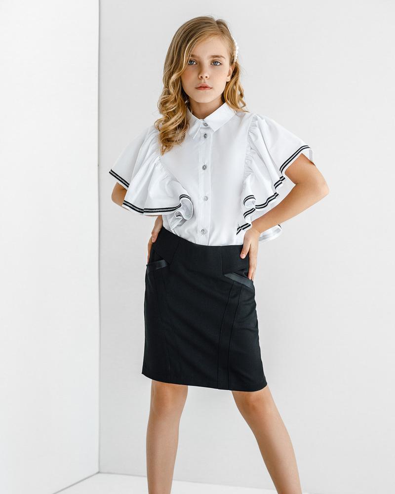 Облегающая короткая юбка фото