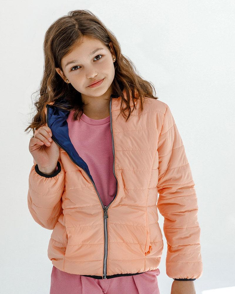 Актуальная двусторонняя куртка фото