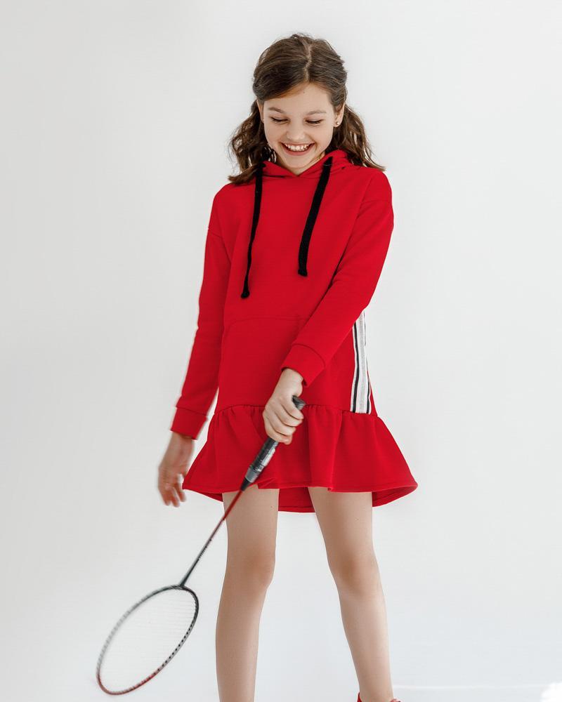 Спортивное платье-туника фото