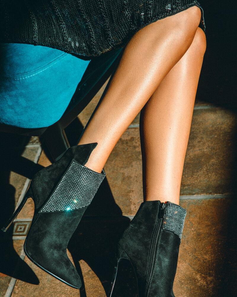 Ботинки со стразами фото