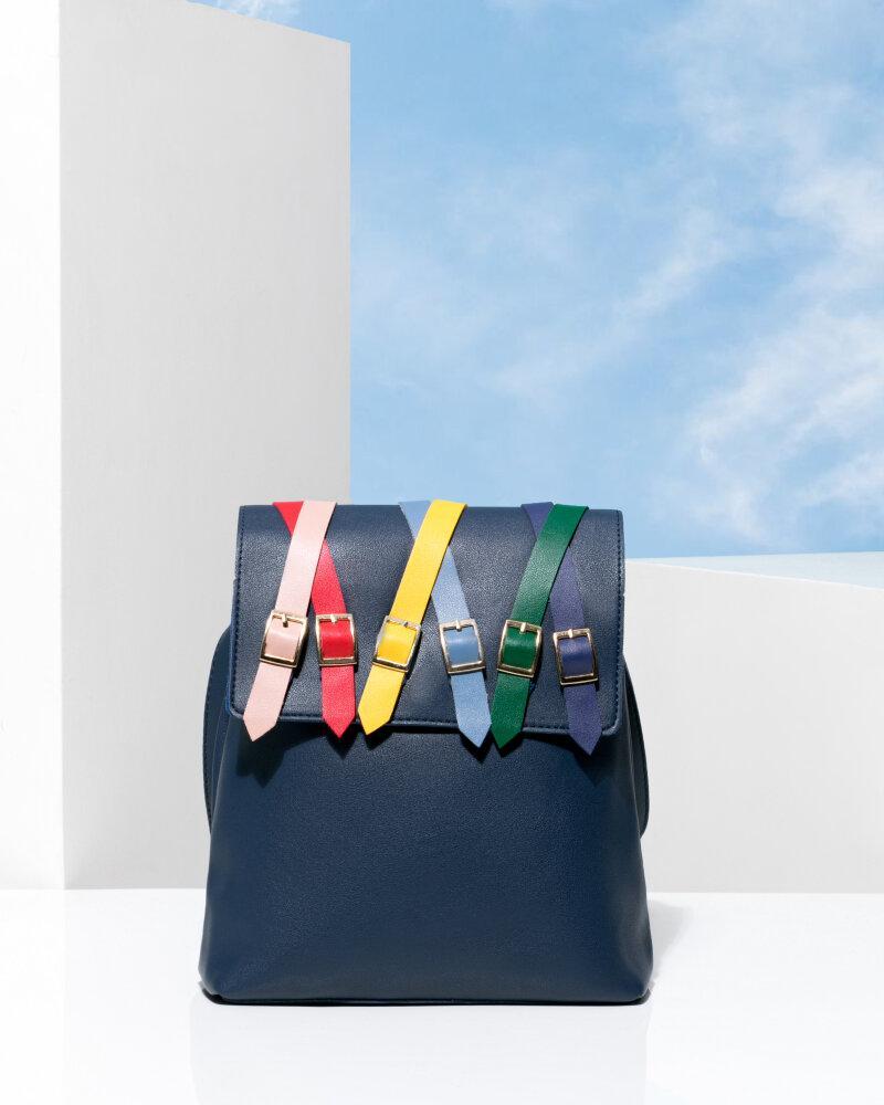 Рюкзак с красочным декором фото