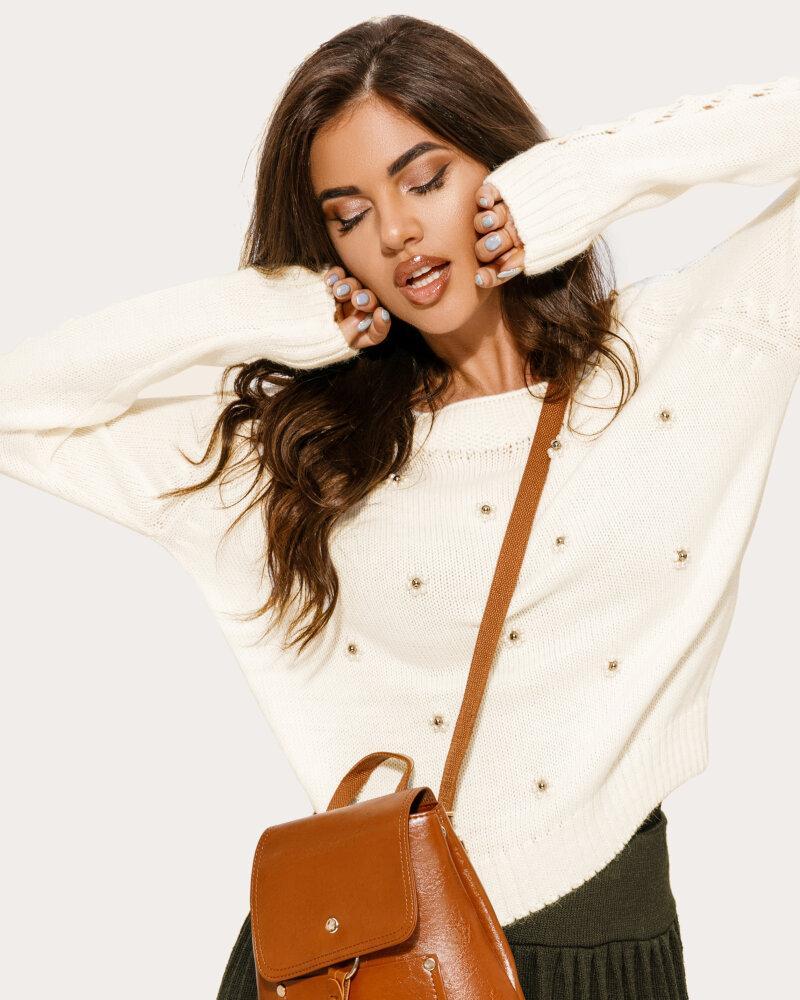 Лаконичный кожаный рюкзак фото