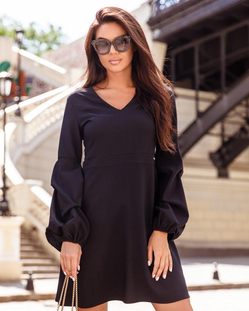 Платье с длинным рукавом фото