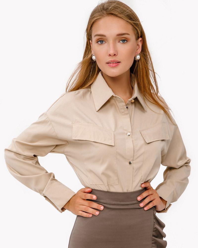 Базовая женская рубашка