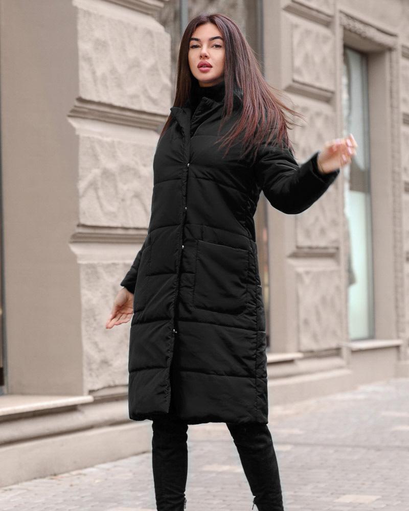 Купить Verhnyaya-odezhda_palto_palto-na-sintepone, Женское стеганое пальто, Gepur