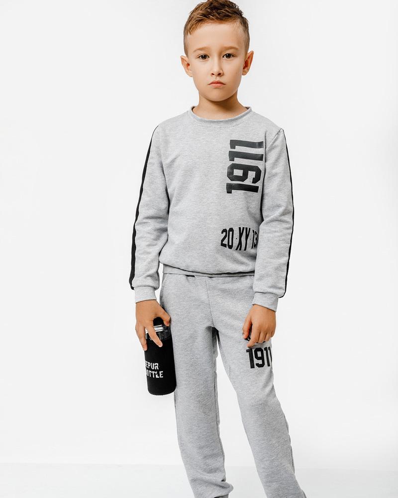 Детский костюм из трикотажа фото