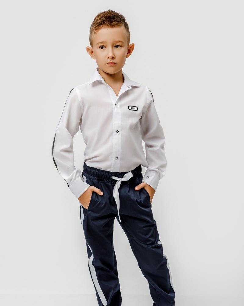 Школьные брюки-джоггеры фото