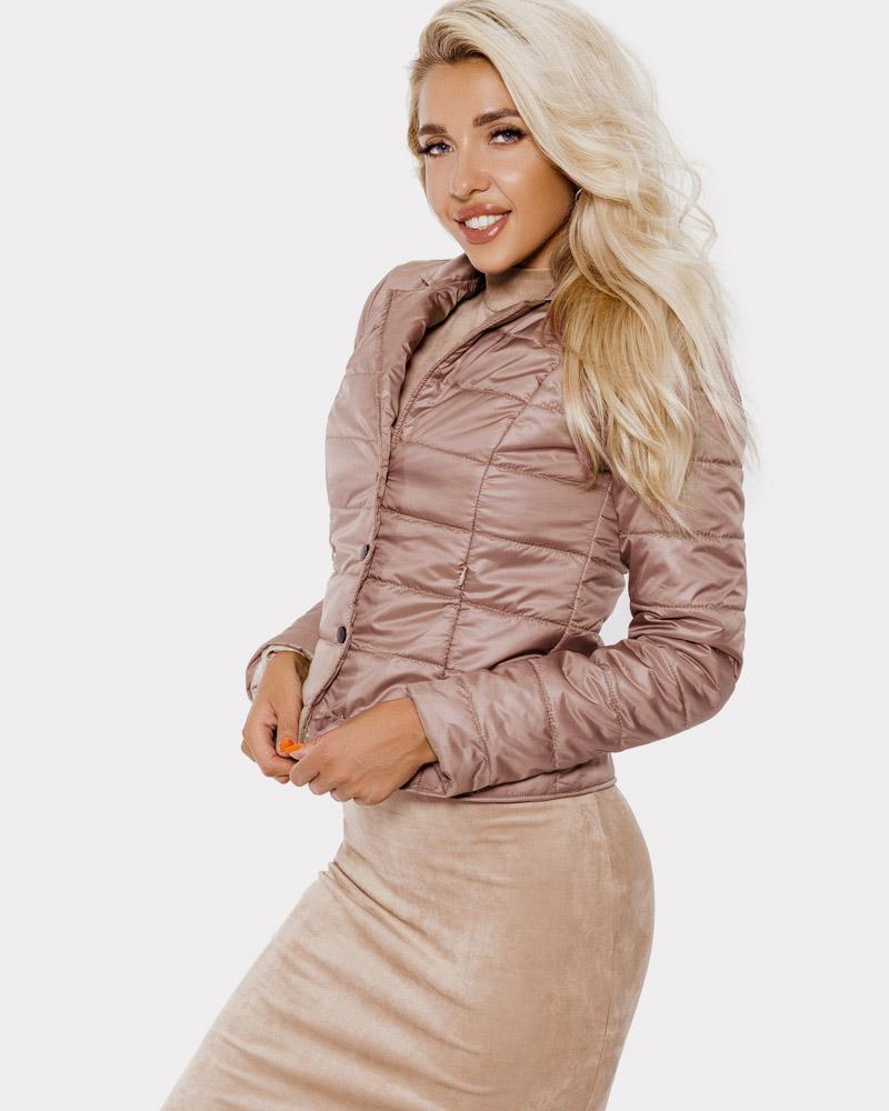 Стеганая утепленная куртка фото